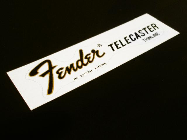 SCHD-080G TELECASTER THINLINE 1968 2PAT デカール
