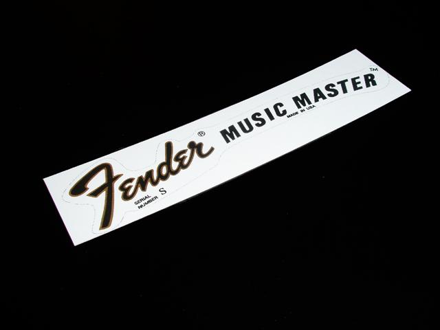 SCHD-124G MUSICMASTER 1977 Ssirial デカール
